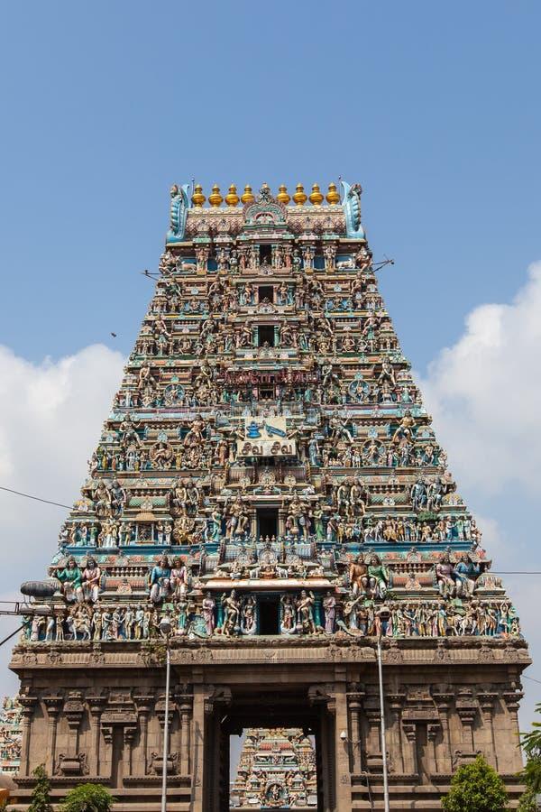 Kapaleeswarar Koil obrazy stock