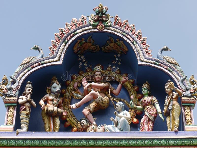Hinduska świątynia Kolombo obraz stock