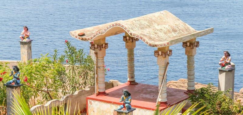 Hinduska świątynia przy Trincomalee, Sri Lanka zdjęcie stock