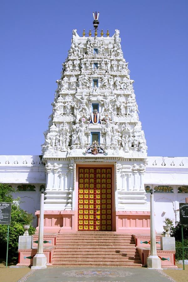 hinduska świątynia pushkar pradawnych obrazy royalty free