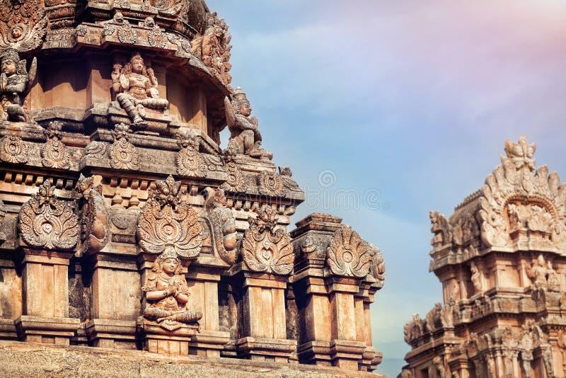 Hinduska świątynia w Hampi obrazy stock