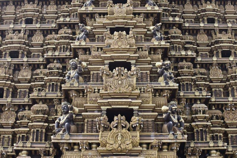 Hinduska świątynia w Nallur, Sri Lanka obraz royalty free