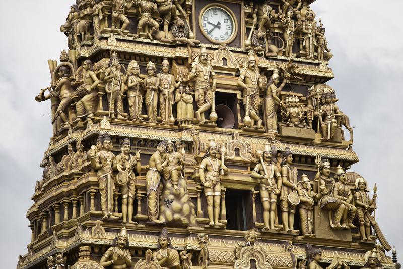 Hinduska świątynia w Nallur, Sri Lanka zdjęcia royalty free