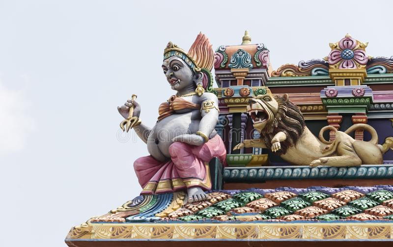 Hinduska świątynia w Trincomalee, Sri Lanka obrazy royalty free