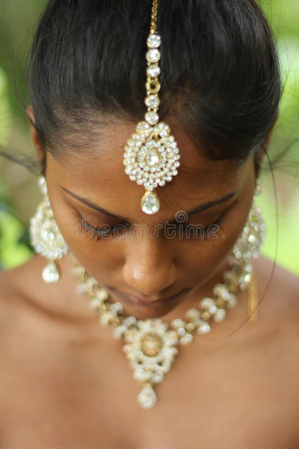 Hinduska biżuteria zdjęcie stock