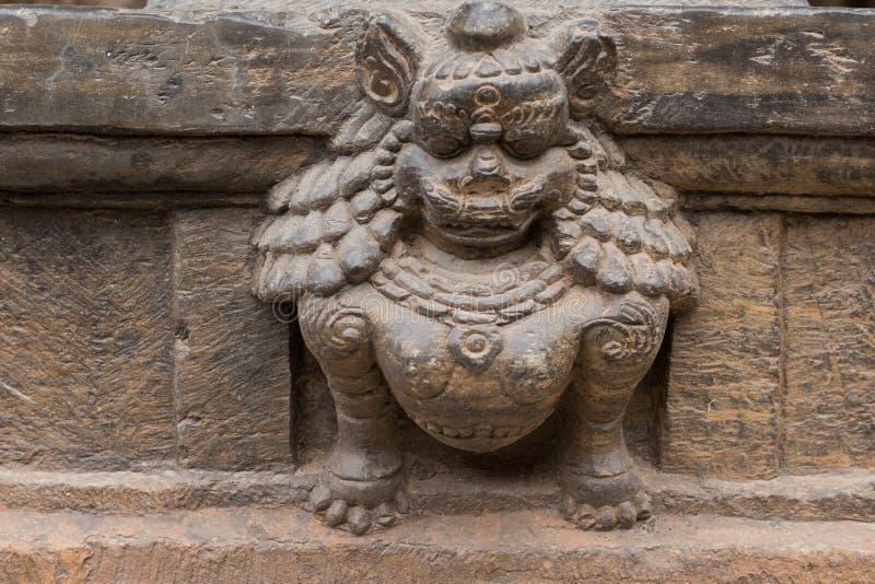 Hinduska bogini statua zdjęcie stock
