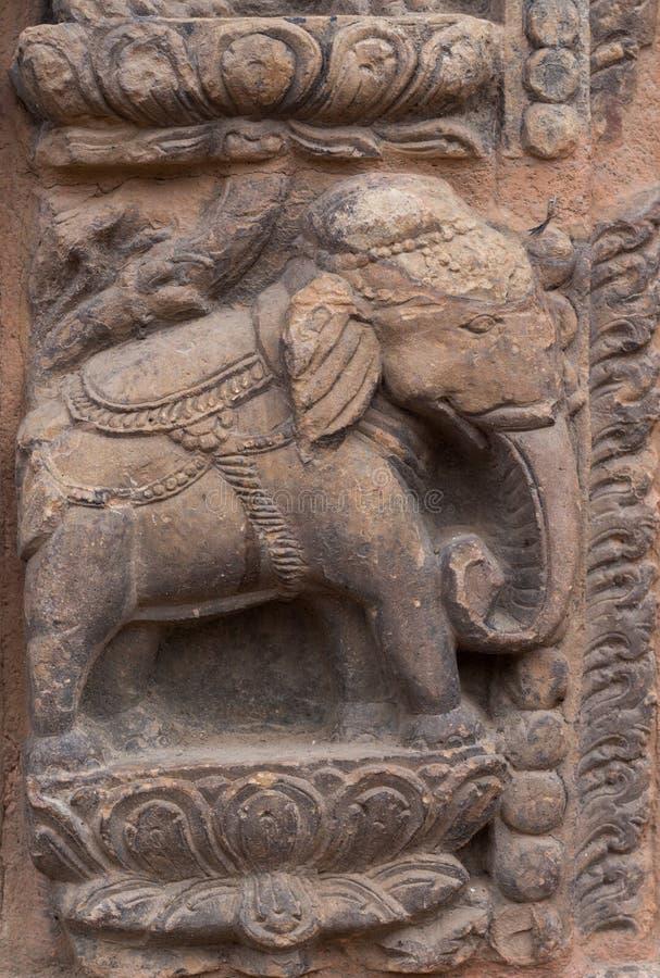Hinduska bogini statua fotografia royalty free