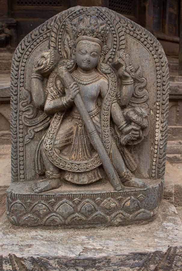 Hinduska bogini statua obrazy stock
