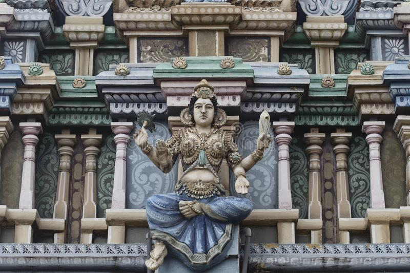 Hinduska kali świątynia w Trincomalee obraz royalty free