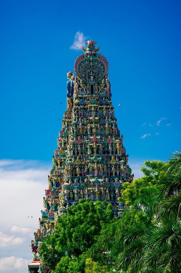 hinduska Madurai meenakshi świątynia obrazy stock