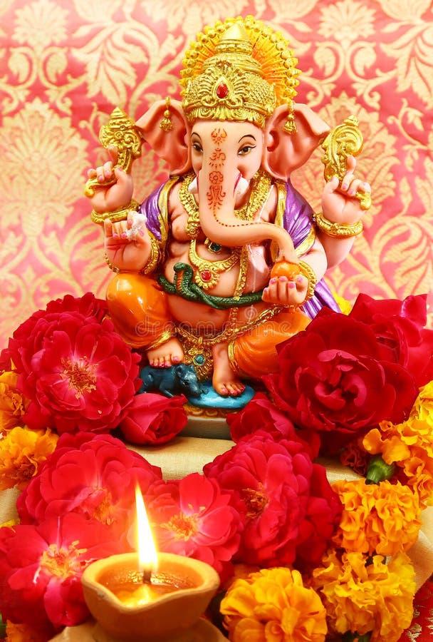 Hinduski bóg Ganesh obrazy royalty free
