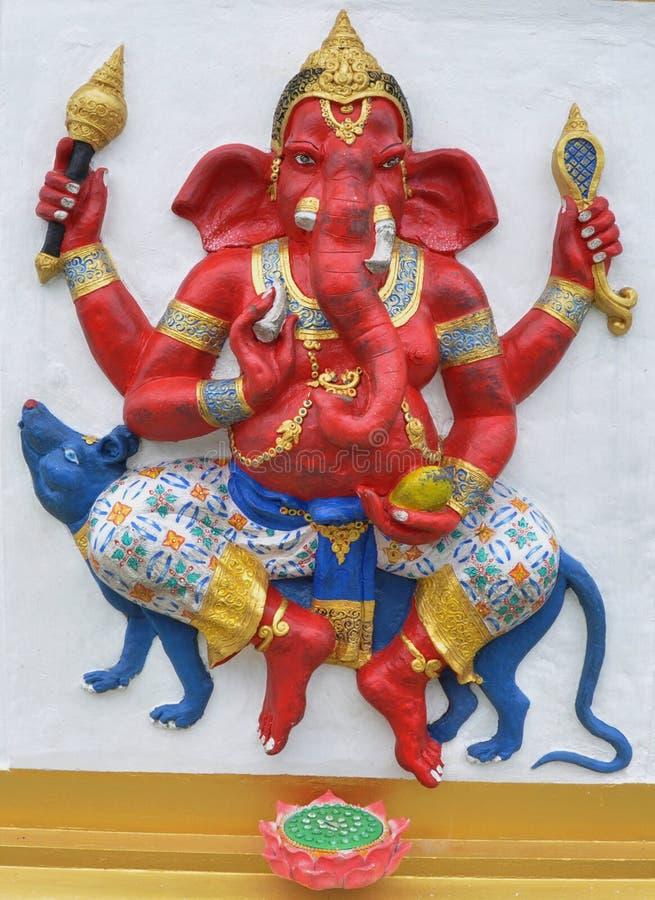 hinduski ganesha bóg obraz stock