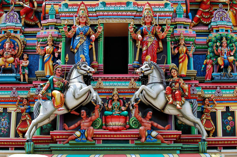 hinduski scupture fotografia stock