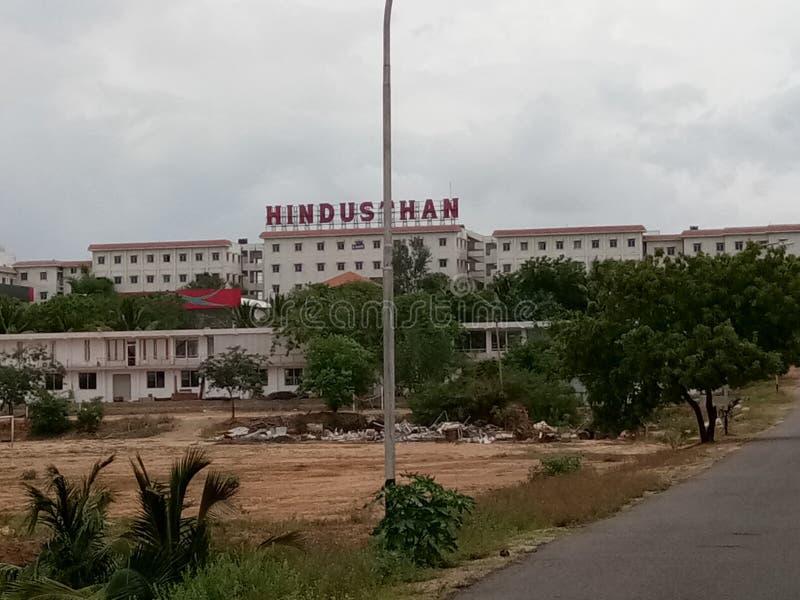Hindusthan högskola royaltyfri fotografi
