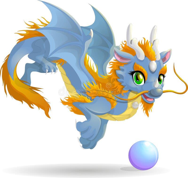 Hinese drake för Ð-¡ royaltyfri illustrationer