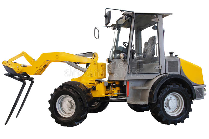 Hinged tractor royalty free stock image