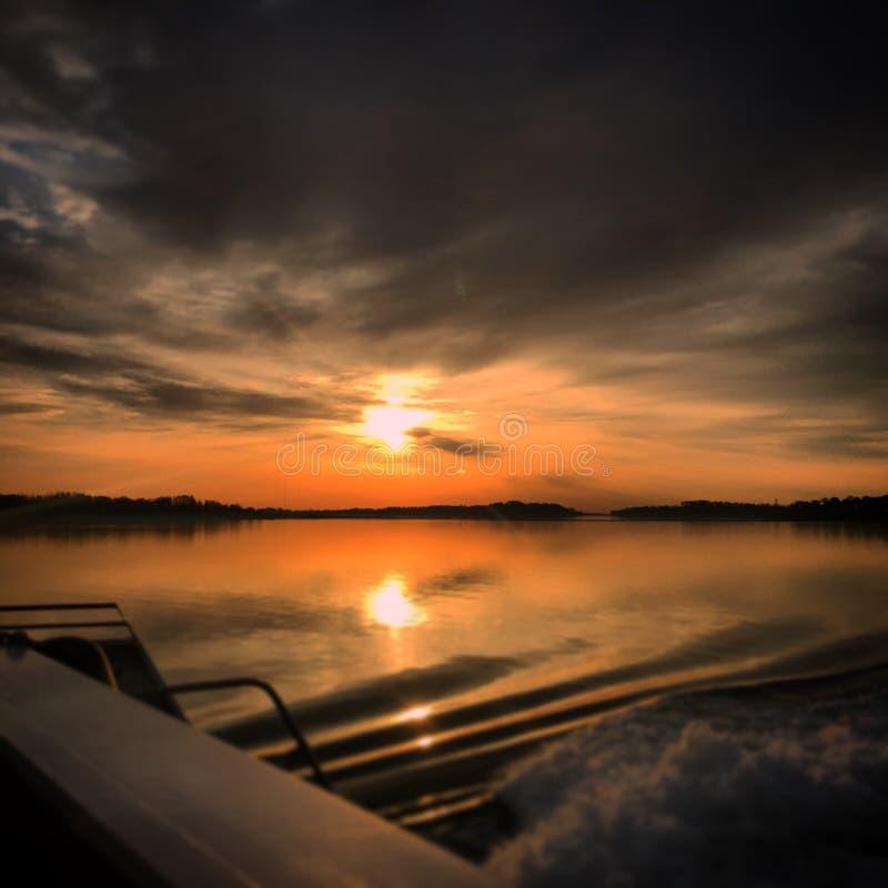 Hingham-Sonnenaufgang MA lizenzfreie stockfotografie