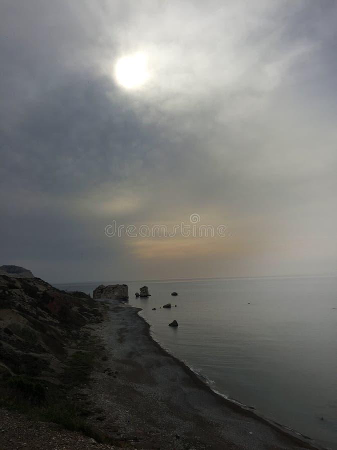Hinter den Wolken ist lizenzfreie stockfotos