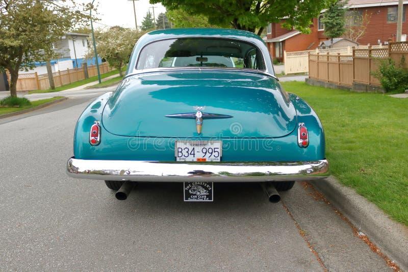 Hintere Ansicht von Chevrolet 1951 Bel Air stockbild