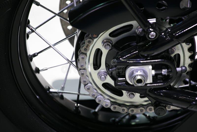 Hintere Kette und Kettenrad lizenzfreies stockbild