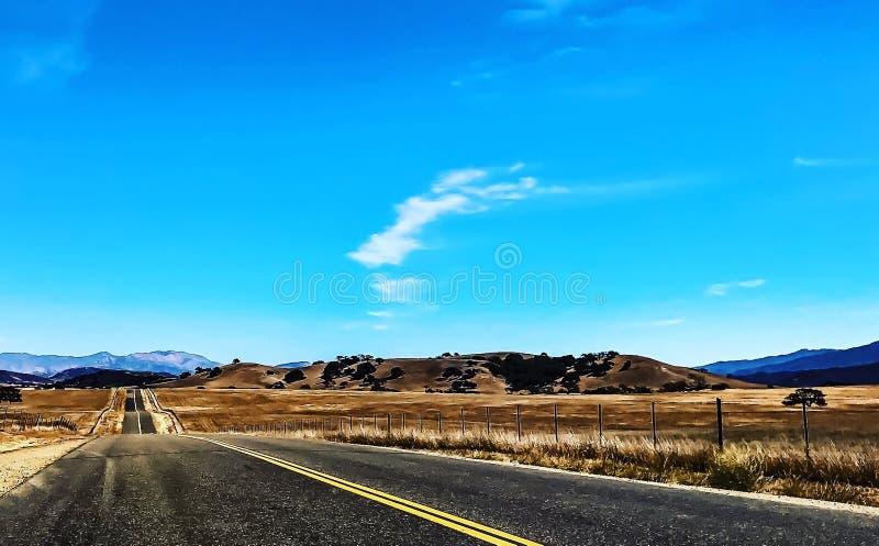 Hintere Straßen im Tal stockbilder