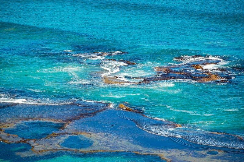 Hinterer Strand - Sorrent, Australien lizenzfreie stockbilder