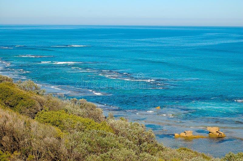 Hinterer Strand - Sorrent, Australien lizenzfreie stockfotografie