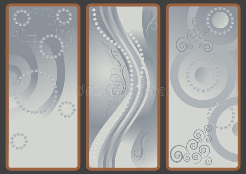 Hintergründe mit grauem Farbton. lizenzfreie stockfotografie