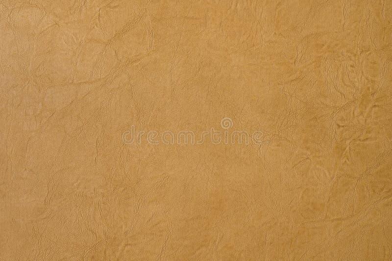 Hintergründe und Beschaffenheiten Hellbrauner lederner Hintergrund stockfoto