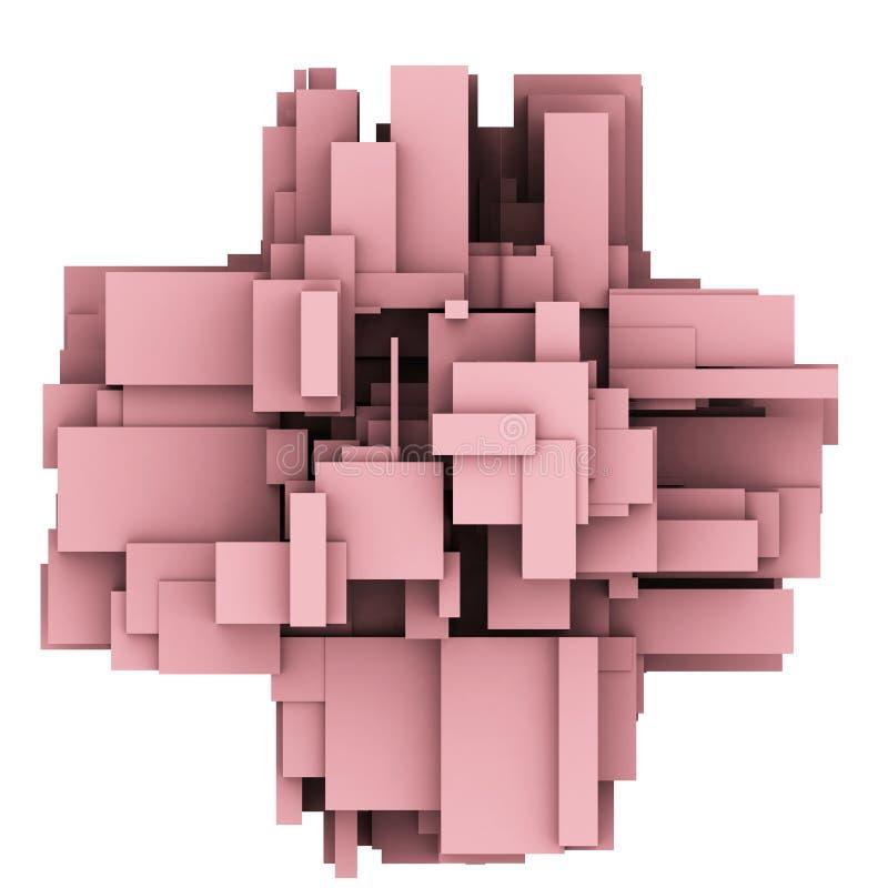Hintergrund 3d vektor abbildung