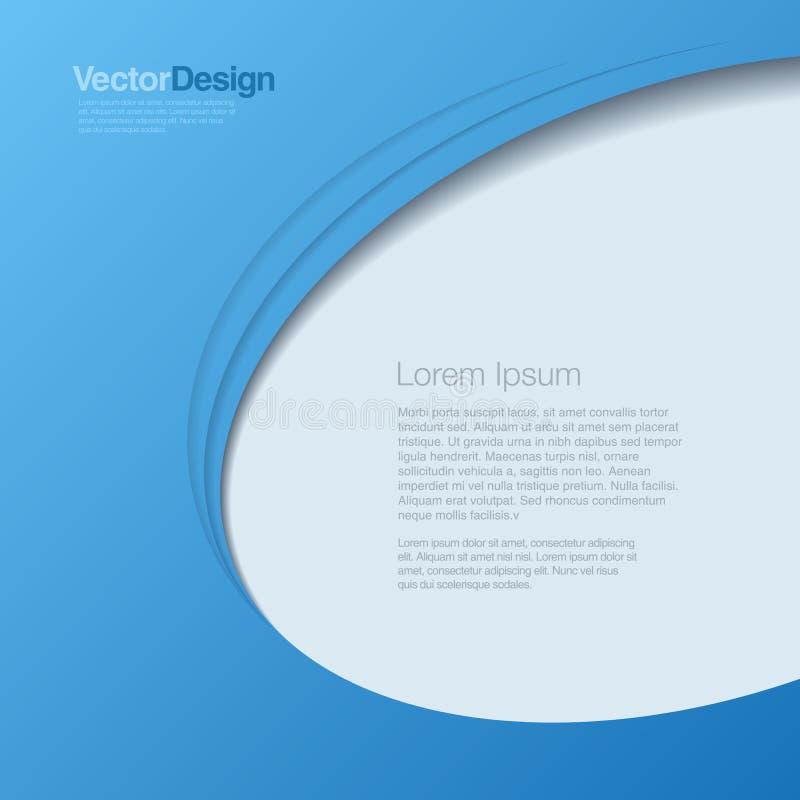 Hintergrund-abstrakter Vektor. Geschäftsdesign templa lizenzfreie abbildung