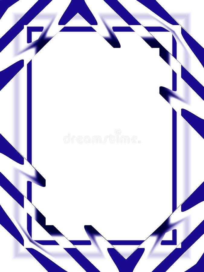 Hintergrund: Abstraktes Blau lizenzfreie abbildung