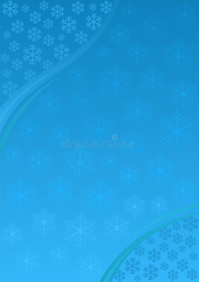 Hintergrund auf Weihnachtsthema stock abbildung