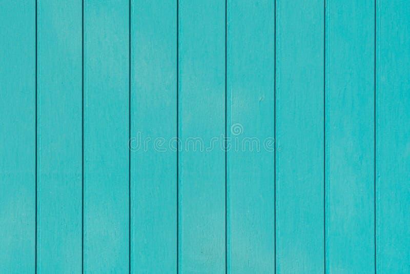 Hintergrund aus blauem, grünem Holz, gealtert und Risse aus Holz stockbild