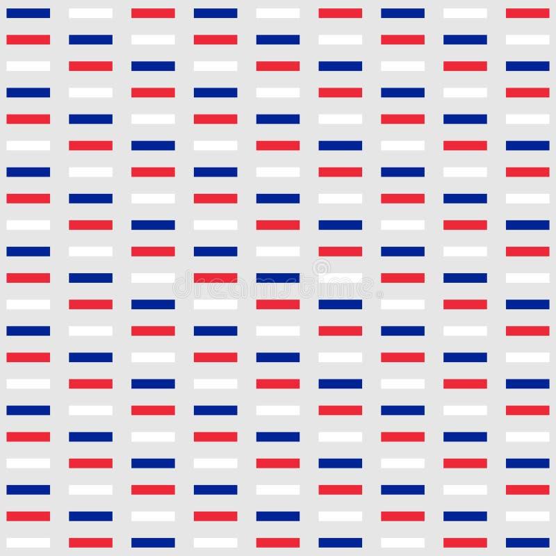 Hintergrund in den Farben der Staatsflagge von Frankreich stock abbildung