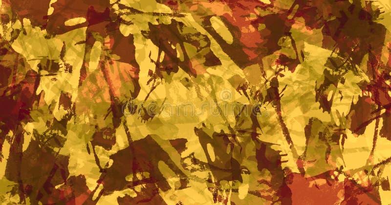 Hintergrund der abstrakten Kunst Bunte grunge Beschaffenheit Pinselstriche der Farbe Malen Sie spritzt Moderner Anstrich Zeitgen? vektor abbildung