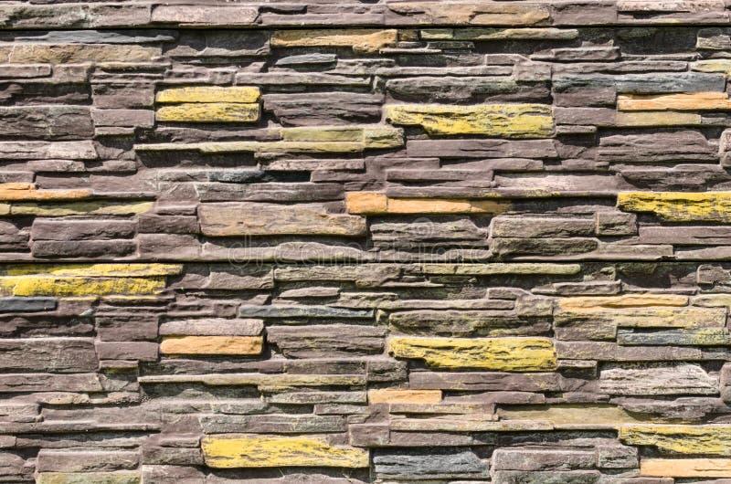 Hintergrund der alten braunen Goldwand stockfotografie