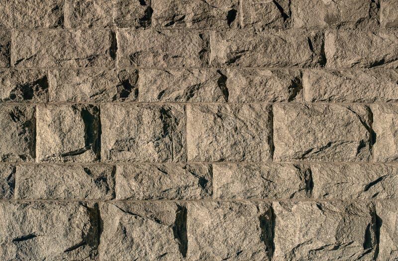 Hintergrund der alten Steinbacksteinmauer stockbilder