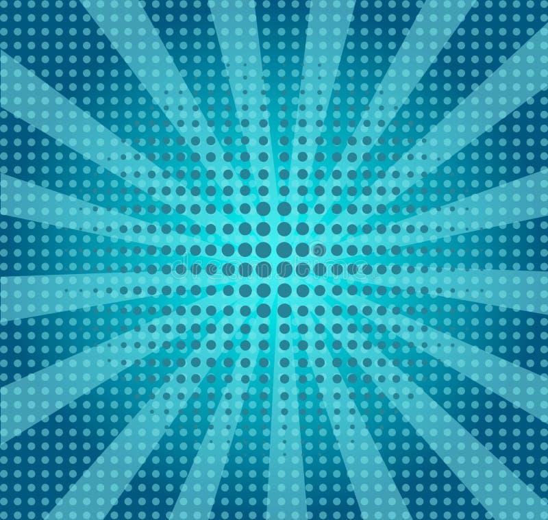 Hintergrund in der Artpop-art lizenzfreie abbildung