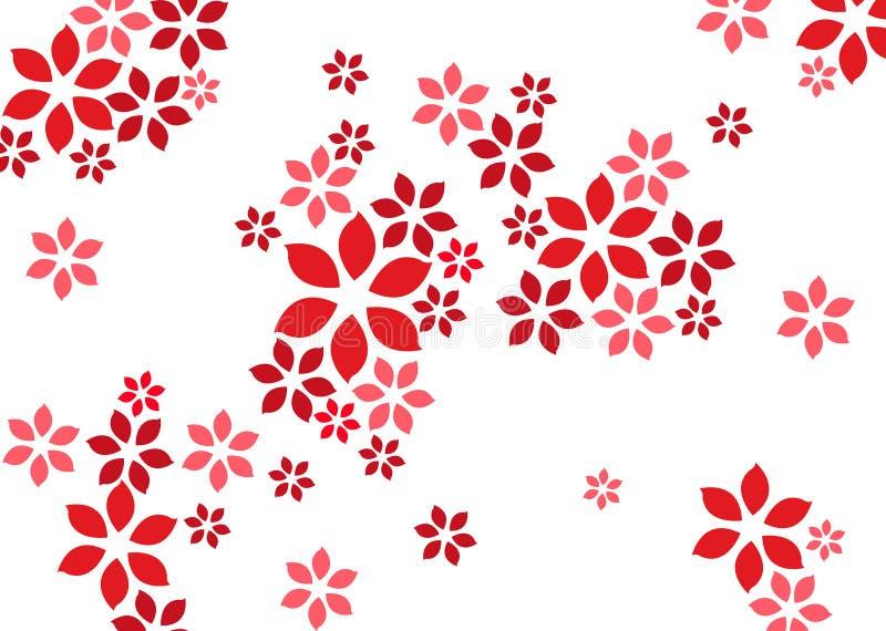 Hintergrund der Blume vektor abbildung