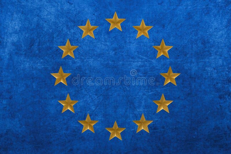 Hintergrund der Europ?ischen Gemeinschaft stock abbildung