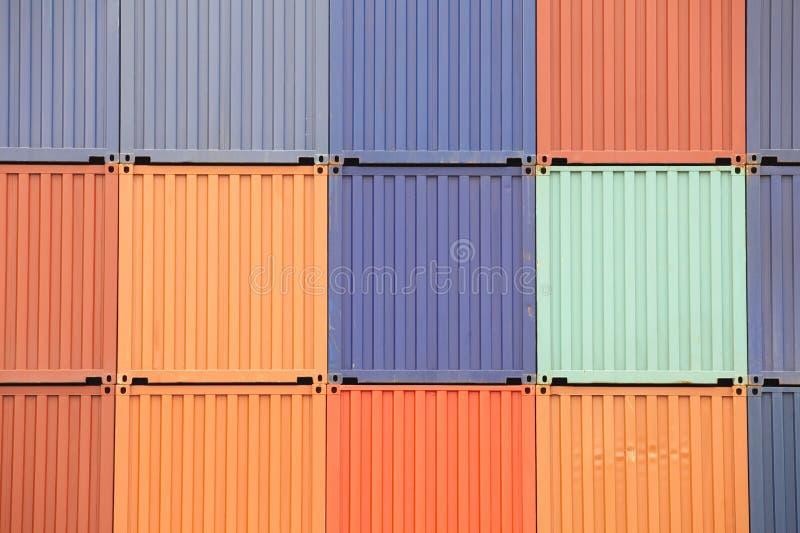 FrachtVersandbehälter lizenzfreie stockfotos