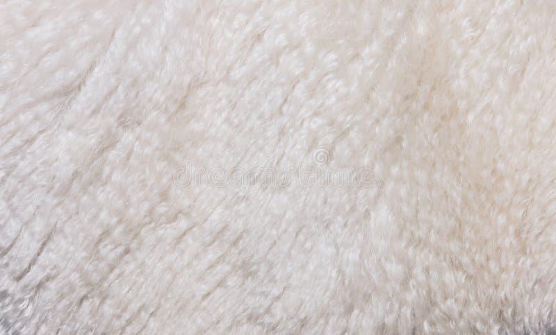Hintergrund der künstlichen Wolle stockfotos