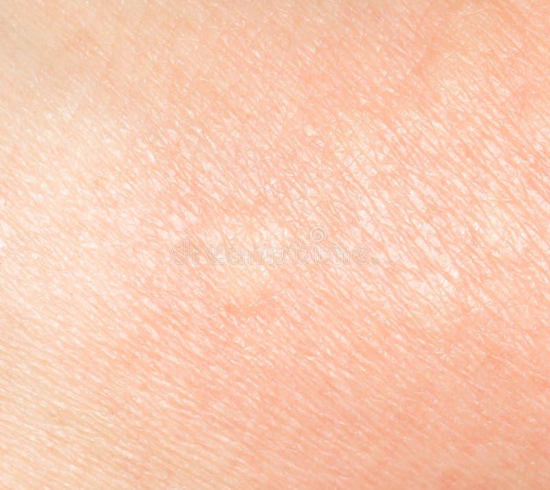 Hintergrund der menschlichen Haut stockfoto
