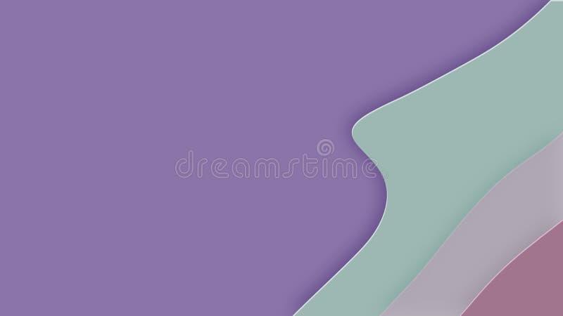 Hintergrund in der Papierart stock abbildung