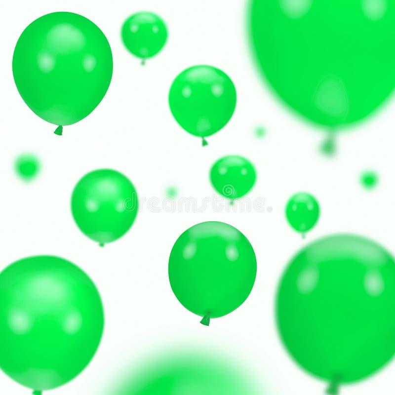 Hintergrund der Parteiballone stockbild