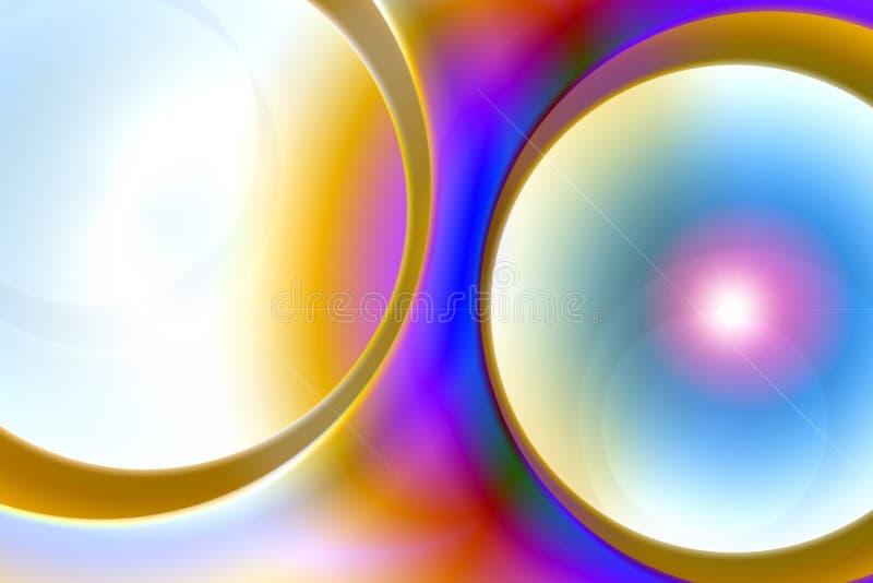 Hintergrund in der Retro- Art lizenzfreie abbildung