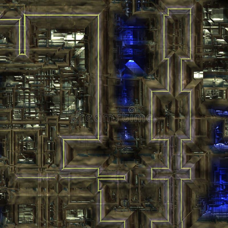 Hintergrund der schweren Maschinerie vektor abbildung