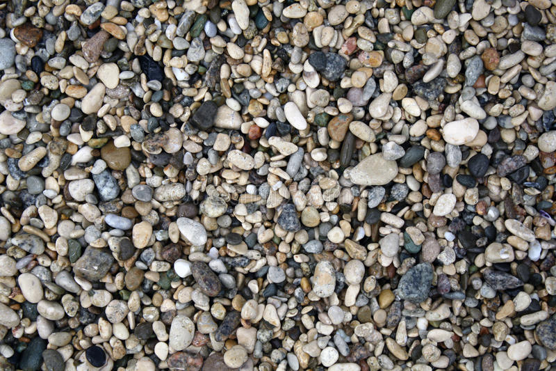 Hintergrund der Seesteine stockfoto