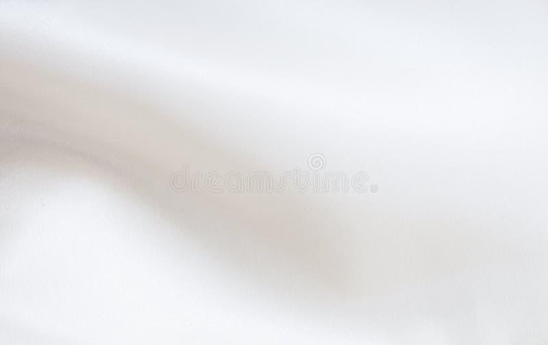 Weiße silk Beschaffenheit. lizenzfreie stockbilder